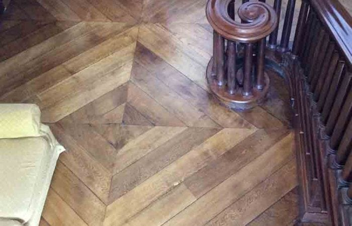 Parquet floor repair and conservation company for the department of education Dublin 3