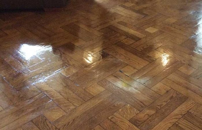 Parquet floor repair and conservation company for the department of education Dublin 4