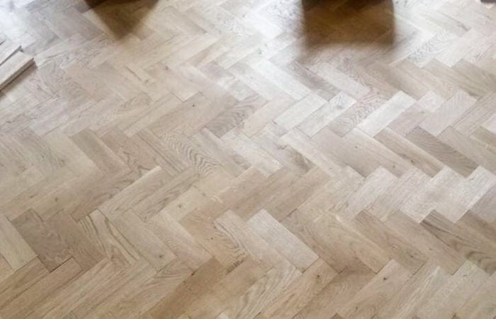 Reclaimed Parquet installed old historical house Dublin 2