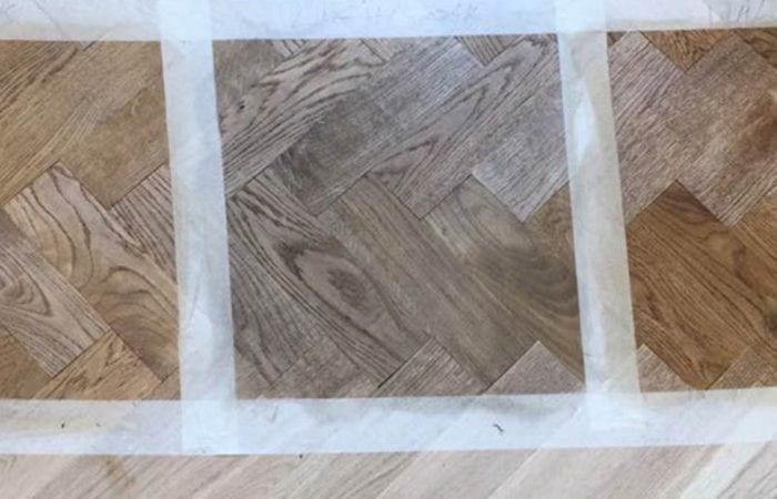 Reclaimed Parquet installed old historical house Dublin 5