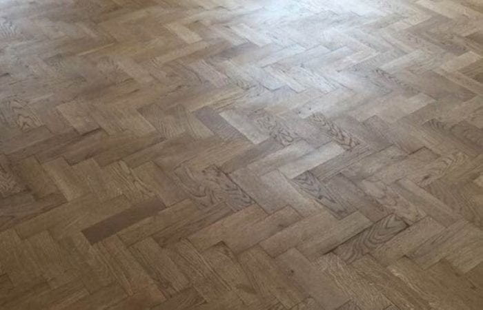 Reclaimed Parquet installed old historical house Dublin 8
