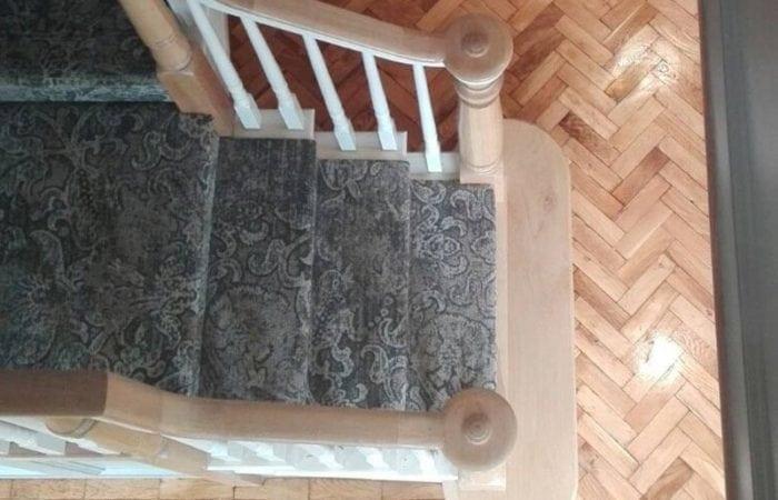 Reclaimed Parquet herringbone pattern Terenure
