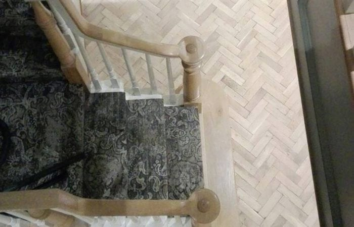 Reclaimed Parquet herringbone pattern Edmondstown