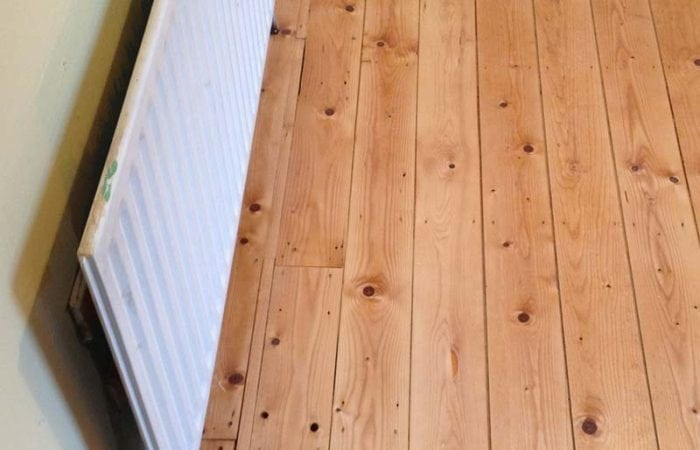 Repair of floorboards Irishtown