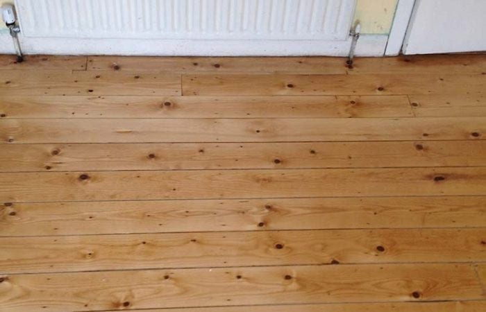 Repair of floorboards Pearse Street