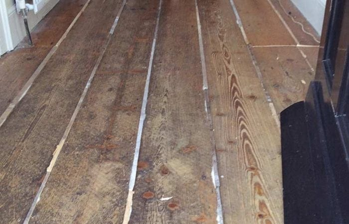 Repair stain and varnish of a wood floor Dublin 6