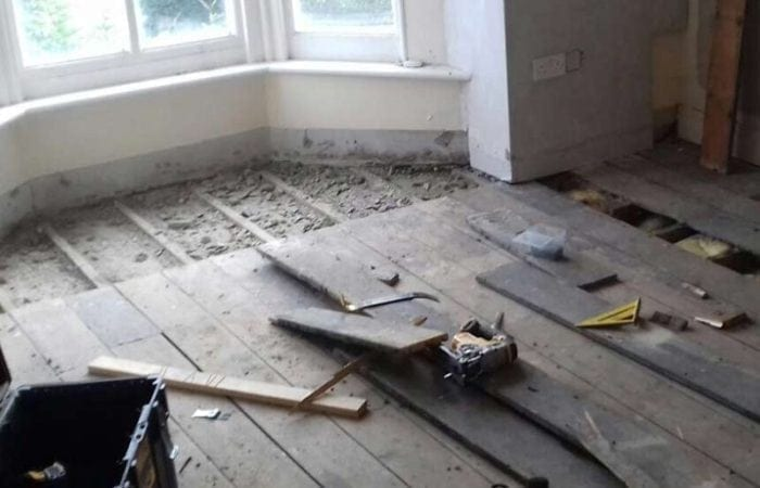 Repairing Wooden Floorboards and parquet in Dublin 10