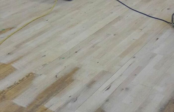 Sanding and line marking for school sports halls and clubs in and around wicklow