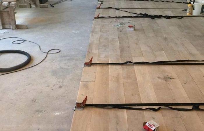 Wood floor installation Beaumount