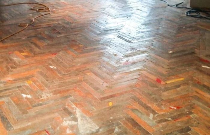 Parquet Floor restoration Dublin Ballyboden