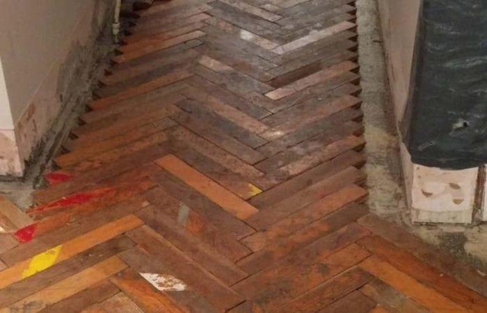 Parquet Floor restoration Dublin Bray