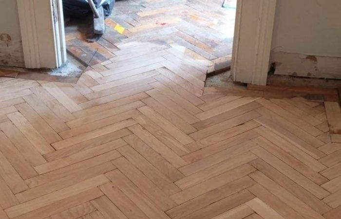 Parquet Floor restoration Dublin Kimmage