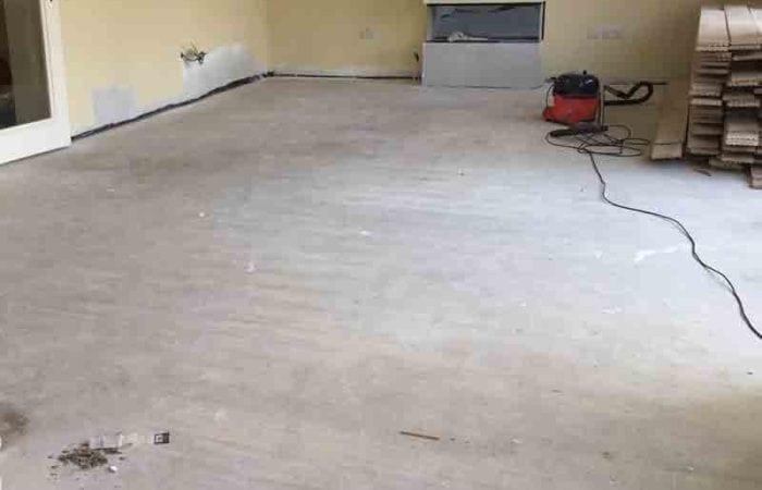 Wood floor installation Marino