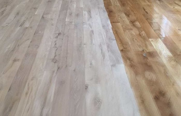 Wood floor installation Clonsilla