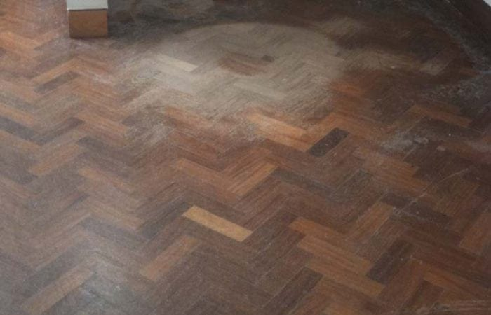 restoring parquet wood floor in the national university of ireland
