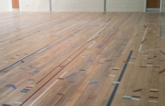 school gym floors reclaimed sports flooring