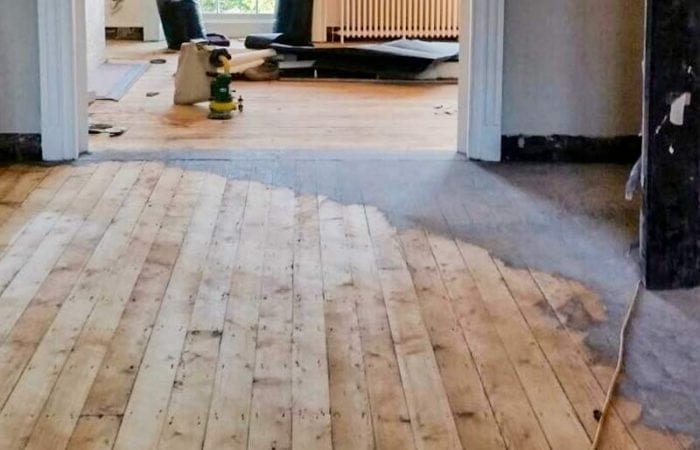 Timber floor sanding and polishing dublin city
