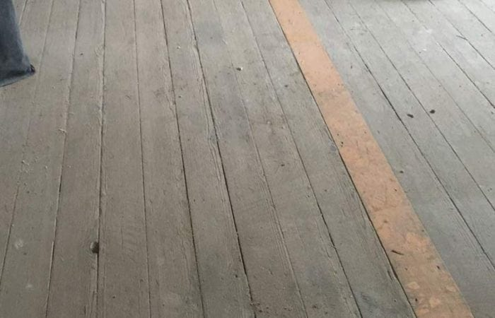 Timber floor sanding and polishing Nass