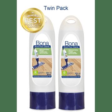 Bona Wood Floor Cleaner Refill - Twin pack