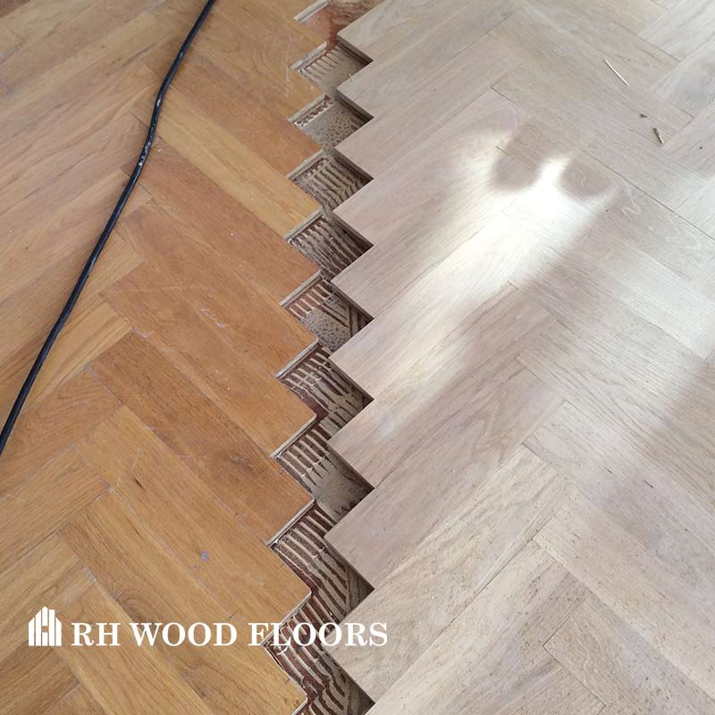 New parquet flooring installed in dublin Ballymount