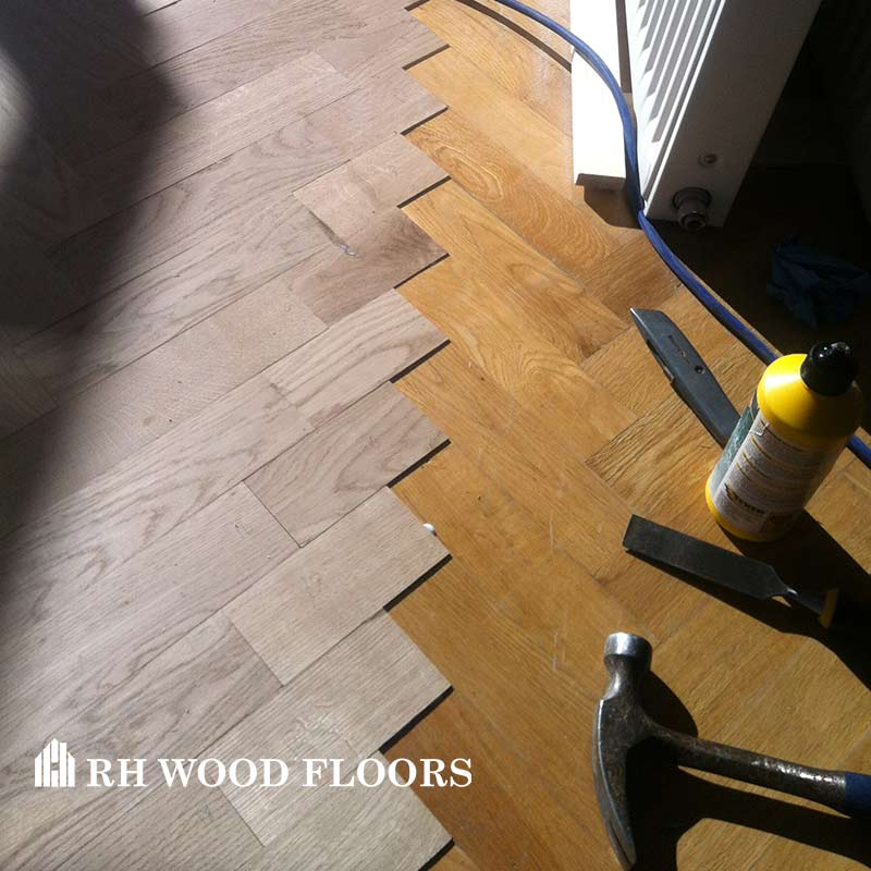 New parquet flooring installed in dublin Inchicore