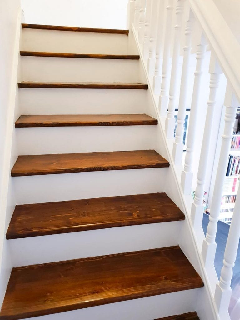 Pictures of Sand and Stain stairs in Dublin